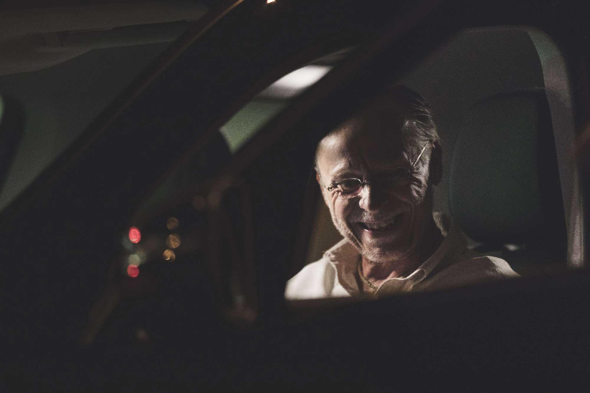 Karel Roden během natáčení snímku Promlčeno   FOTO: DonArt Production